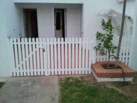 Vallas aluminio y pvc cadiz chiclana jerez san - Vallas jardin pvc ...