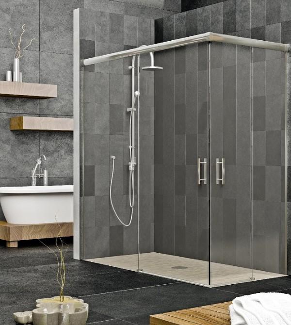 Mamparas ba o aluminio y pvc cadiz chiclana jerez san - Fotos de mamparas de ducha ...